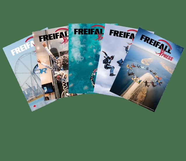 FreifallXPress Ausgaben