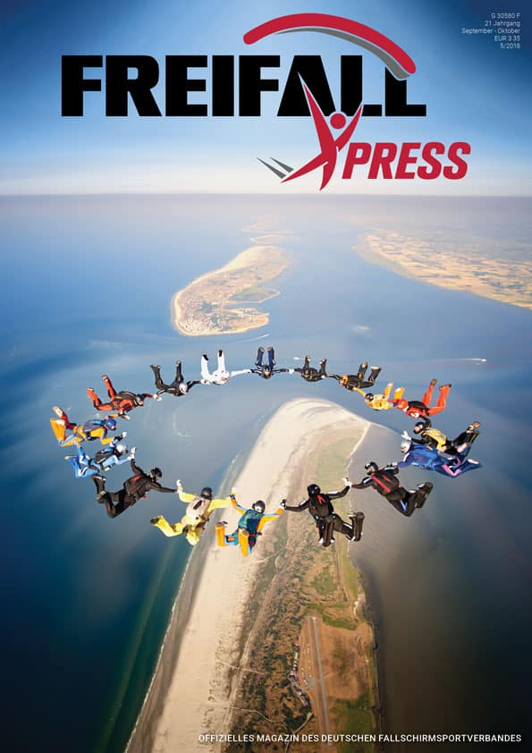 Freifall XPress Cover 2018-5 (c) Karl-Heinz Woytech